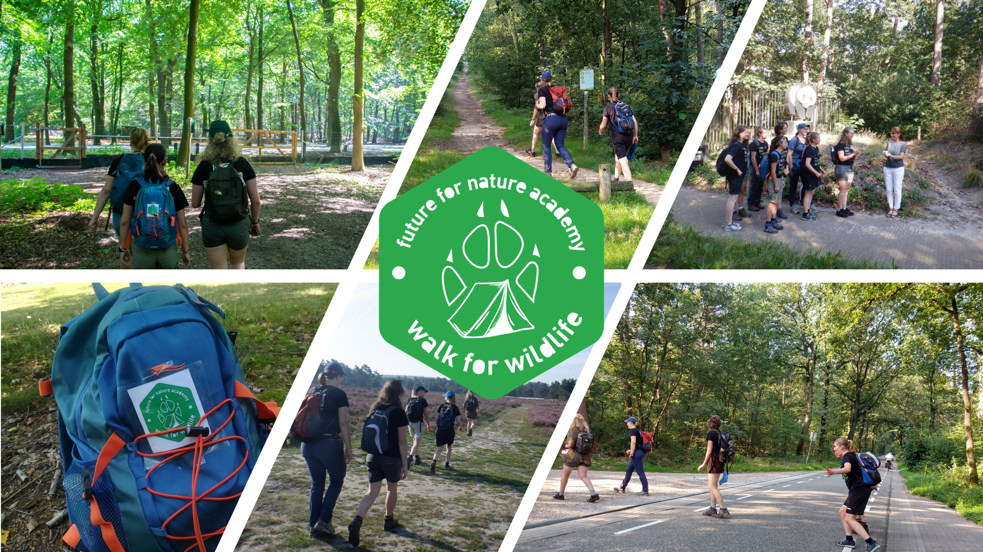 """Walk for Wildlife"" – Raising awareness towards nature fragmentation"